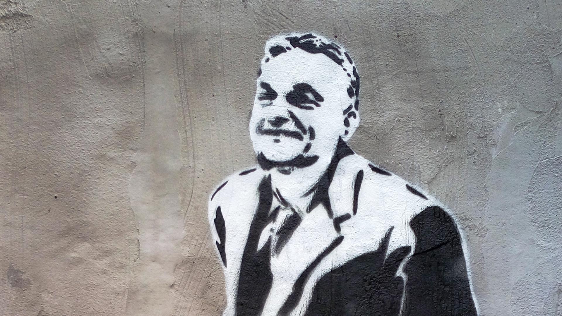 Úgy tűnik, Banksy megfestette Orbánt